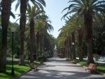 Park Alameda Joao de Deus in het centrum van Faro.
