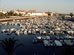 De plaatselijk jachthaven in Faro.