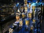 Boegornamenten in het Scheepvaartmuseum