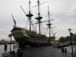 Replica van de VOC Amsterdam