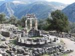 Tholos : circelvormige tempel (Delphi)