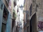Nauwe steegjes in de oude binnenstad.