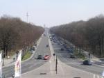 De erezuil bevindt zich in de Grosser Tiergarten op de Grosser Stern, een groot verkeersknooppunt midden in het park.