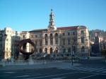 Het stadhuis van Bilbao.