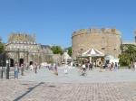 De versterkte oude stad van Saint Malo