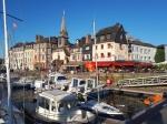 Het Vieux Bassin in het centrum van Honfleur