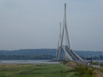 De Pont de Normandie over de Seine te Honfleur