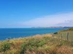 Panorama vanop Cap Gris-Nez. In de verte zie je Cap Blanc-Nez