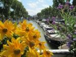 Canal de la Robine in Narbonne.