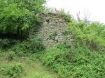Ruine van fort le Quié op de gelijknamige wandeling in de buurt van Mirepoix.
