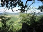 """Prachtige uitkijkjes tijdens de wandeling """"Sentier de la Barte"""" bij het gehucht L'Escale nabij Puivert."""