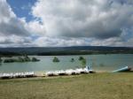 Het kunstmatig meer van Montbel wordt voornamelijk gebruikt voor irrigatie van de akkers en er wordt ook aan watersport gedaan.