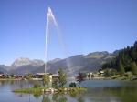 Het kleine meer de Vonnes werd in 1973 gegraven nabij Châtel. Het wordt gevoed door de Vonnes rivier.