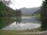 Het meer van Morgins ligt net over de grens met Zwitserland. De omgeving is beschermd gebied sedert 1978.