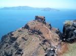 Nog een laatste blik op de Caldera vanuit het dorpje Finikia (Santorini).