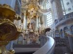 Deze protestantse kerk heeft een circelvormige opbouw zodat de kerkgangers op de gelijkvloers en op de vele balkons en loges ideaal naar de preek kunnen luisteren.