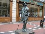 De Ierse schrijver James Joyce wordt beschouwd als een van de belangrijkste schrijvers van de 20e eeuw. Zijn hoofdwerk is de roman Ulysses.