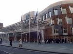 Het moderne Schotse Parlement opende zijn deuren in 2004.