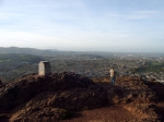 Arthur's Seat is een 250 m hoge heuvel, van waarop je een prachtig panorama hebt op de stad en de wijde omgeving.