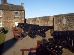 De Outer Close (de buitenste binnenplaats) bevat aan de noordzijde de Grand Battery (de Grote Batterij) uit 1689.