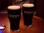 Na de inspanning, de ontspanning. En wat is er beter dan een Guinness ? Antwoord : twee Guinnessen...