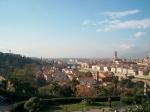 Panorama vanop het Michelangelo plein.