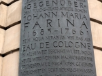 De Italiaan Johann Maria Farina ontwikkelde in Keulen zijn wereldberoemde Eau de Cologne.