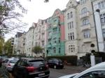 In het Belgisch kwartier vind je heel wat prachtige Jugendstil huizen.