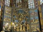 Altaar van Veit Stoss drieluik 11 x 13 m, er is 12 jaar aan gewerkt (1477-1489)