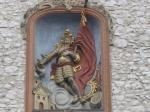 Wapenschild op de Poort van Florian