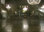 Ondergrondse St Kinga kapel in de Wieliczka zoutmijn. Word nu nog gebruikt voor huwelijksfeesten.