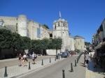 Het Kasteel van Amboise torent hoog boven de stad uit en is gebouwd op een rots die al eeuwenlang wordt gezien als een ideale observatiepost voor de loop van de Loire.