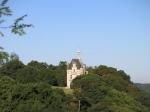 Het nieuwe kasteel van Champtoceaux.