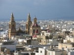 Malta is hoofdzakelijk katholiek en het kerkbezoek is het hoogste van Europa. Dit is de kerk van het Heilig Hart in Sliema, één van de 360 kerken van Malta.