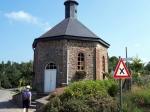 De mooie achthoekige kapel in Magoster.