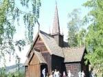 Het openluchtmuseum Maihaugen in Lillehammer laat zien hoe de mensen in de vallei Gudbrandsdalen leefden vanaf de middeleeuwen tot nu.