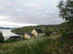Het Skjerstad fjord bij Fauske.