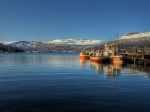 Gratangen is genoemd naar het fjord waaraan het ligt. De naam betekent stenen fjord.