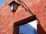 Andalusische kleuren in het klooster van Santa Catalina