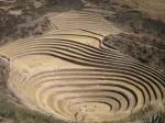 Landbouw teststation van de Incas in Morray