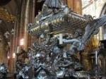 Zilveren graf van St Johannes van Nepomuk