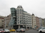 Het Dancing House ook gekend als Fred and Ginger