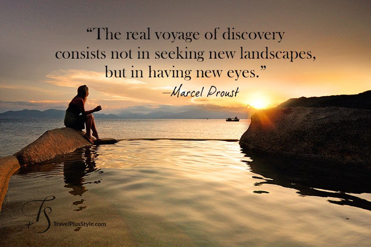 Motivational Discovery Quotes By Marcel Proust: Effevee's Reisblog