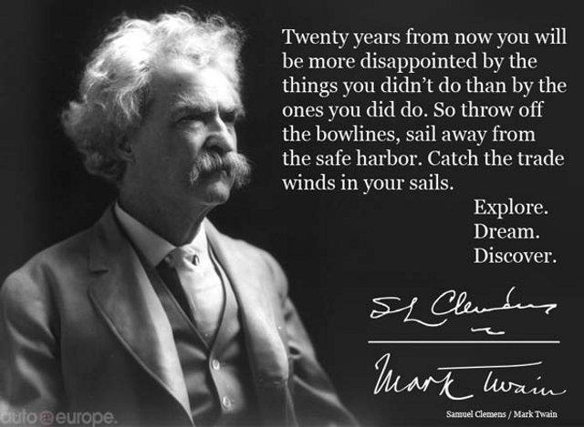 Mark Twain Quotes: Effevee's Reisblog