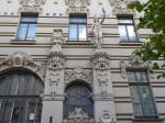 In de Albertstraat zien we vele Jugendstil gebouwen van rond 1900. Het was de periode dat Riga één van de belangrijkste havensteden aan de Oostzee werd.