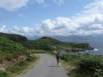 Wandelen rond Ardvasar op het eiland Skye