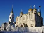 De Kathedraal van de Verrijzenis van de Heilige Maagd (1158-1160) in Vladimir staat op de werelderfgoedlijst van Unesco.
