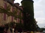 Hostellerie de Lévézou in Salles Curan. Onze verblijfplaats aan de Lac du Paraloup.