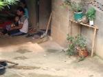 Bezoek aan  de zilveren Palaung, een uit Myanmar afkomstig bergvolk.