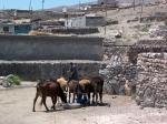 Stop in een Koerdisch dorpje op weg naar Dogubeyazit